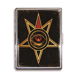 Theatre Bizarre Eye of Providence Cigarette Case