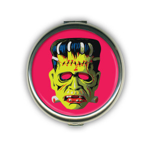 Cranky Frankie Mask Compact Mirror - LAST ONE!