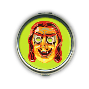 Witchy Poo Mask Compact Mirror-OUIT OF STOCK -