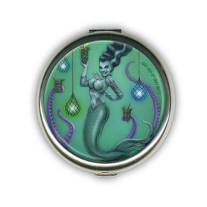 Franken Mermaid Compact Mirror