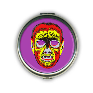 Wolfie Mask Compact Mirror