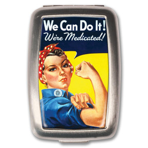 Rosie the Riveter Pill Box - 0641938654837