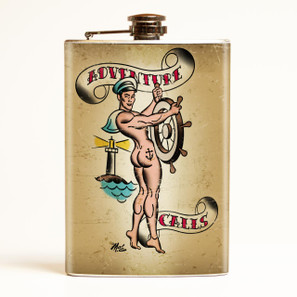 Adventure Calls Flask - OUT OF STOCK!