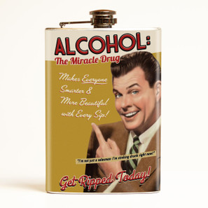 Alcohol Flask-OUT OF STOCK -