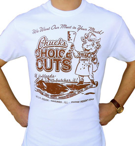 Chuck's Choice Meat Men's T-Shirt