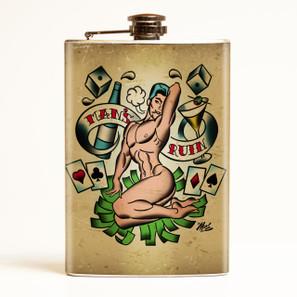 Man's Ruin Flask