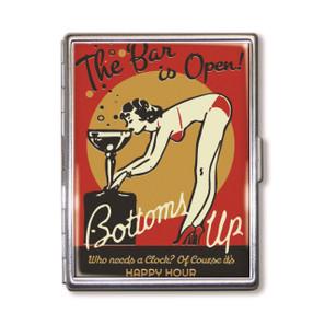 Bar is Open Cigarette Case*