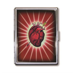 Bleeding Heart Cigarette Case