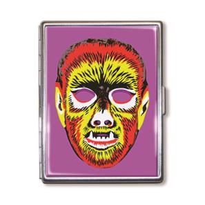 Electric Wolfie Mask Cigarette Case