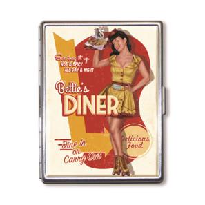 Bettie Page Bettie's Diner Cigarette Case