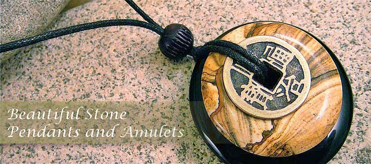 stone pendant jewelry