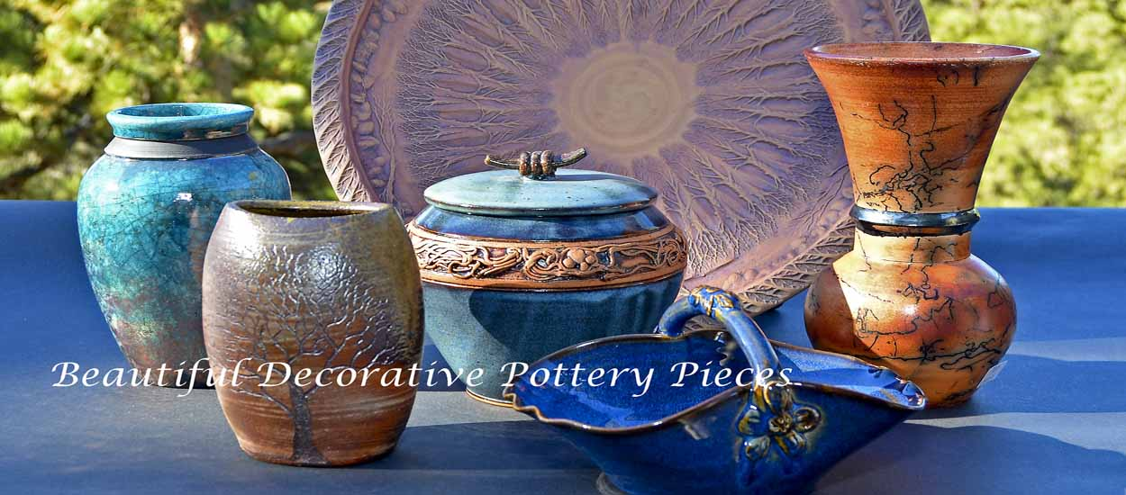 giftedpottery.com decorative pottery
