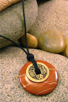 Earth Stone Pendant Stone Jewelry - Personal Power
