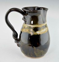 Water / Milk Pitcher in Ebony Glaze