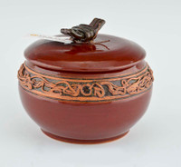 Medium Red Treasure Jar