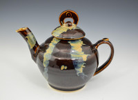 Brown Asian look Teapot
