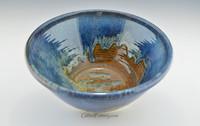 "Large Serving Bowl Ocean Blue 12 in. diameter x 5.5"" deep"