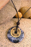 Earth Stone Pendant Stone Jewelry - Wisdom