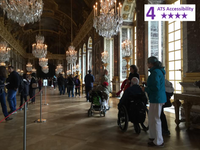 Accessible 6 hour Guided Tour from Paris to Versailles