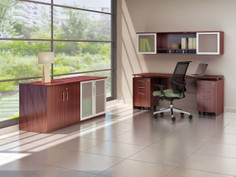 Medina Office Suite Mahogany