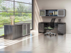 Medina Office Suite Gray Steel