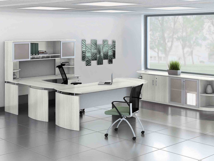 Medina Executive Office Sea Saltl Laminate