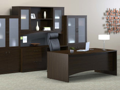 Executive Office lateral and credenza
