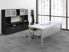 e5 Office Suite in Raven and White