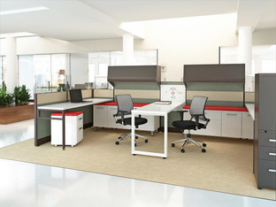 Friant Dash Interra Integrated Office Cubicles