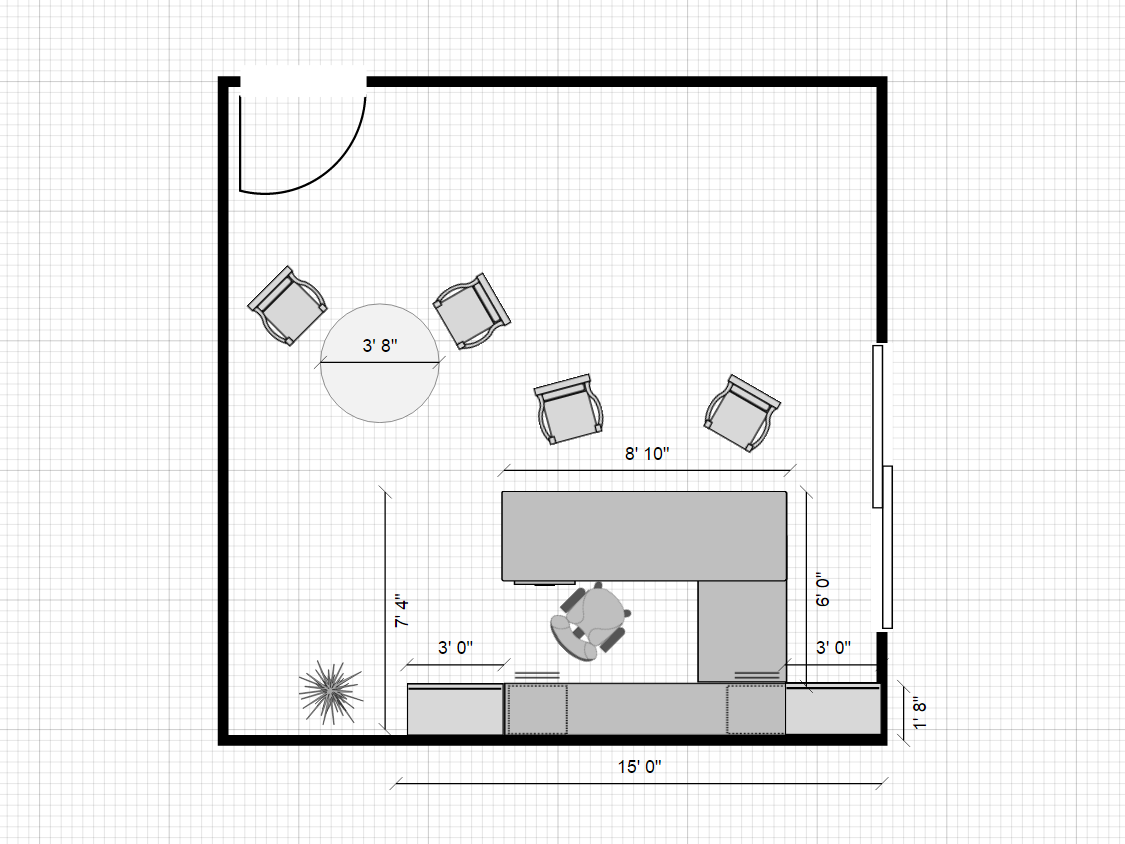 20x20 private office layout typical office furniture warehouse image 1 pooptronica