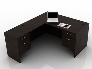OFW TL L-Shape Desk with BF 30x60