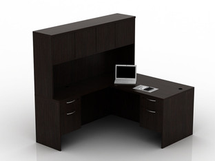 OFW TL L-Shape Desk with Hutch BF 30x60