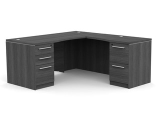 OFW VL L-Shape Desk with Laminate Front
