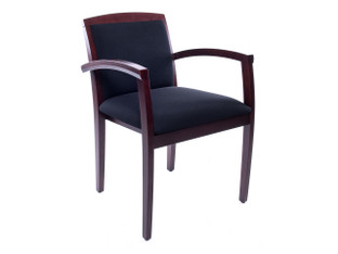 Cherryman Chair-08 Mahogany Guest Chair