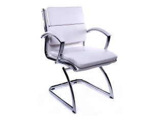 OFW Prato MB White Guest Chair