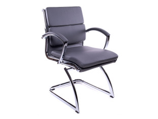 OFW Prato MB Gray Guest Chair