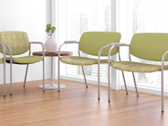 Freelance side chair and Freelance bariatric chair - waiting room