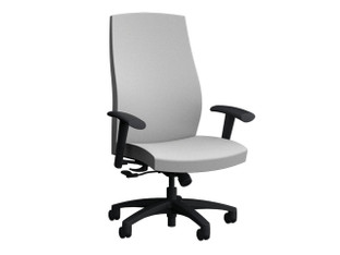 Diverge High Back Swivel Seating P-1751. Shown with Adjustable Arms; Nylon Base and Standard Control