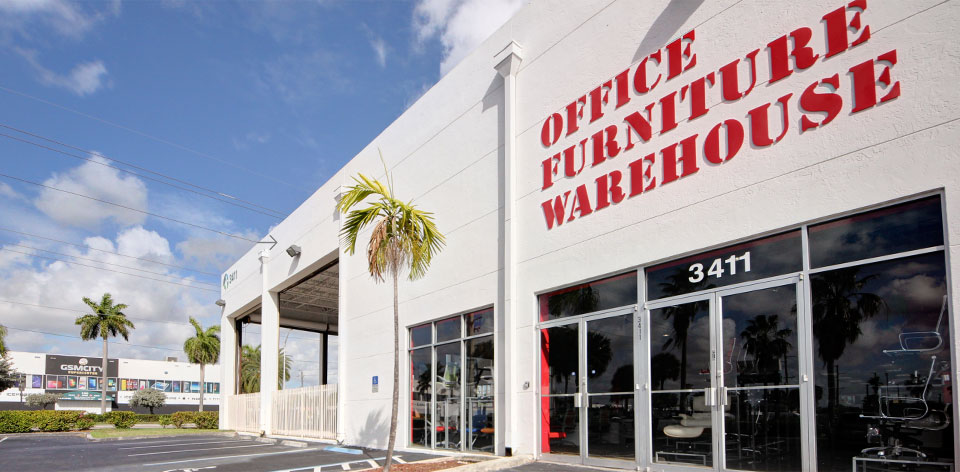 Exceptional Virtual Tour Of Miami Office Furniture Store