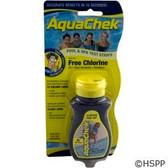 Test Strips, AquaChek Yellow, 4-in-1, Free Chlorine, 50 ct