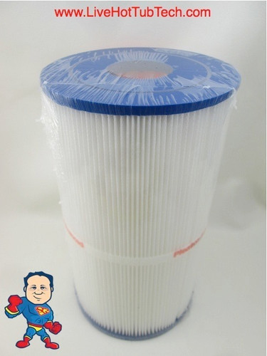 "Filter Cartridge Hotspring 30sqft 10 1/2"" Tall x 6""Wide X 10-1/2"" and has (2) 1 15/16"" holes top & bottom"