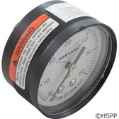 "Pressure Gauge 1/4""mpt 0-60psi Back Mount Sand or DE Filter"