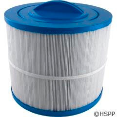 "Filter, Cartridge, 50sqft, ht, 2""mpt, 8-1/2"", 7"" 3oz Fits Vita Spa and Others This filter fits some Vita Spas manufactured by DM Industries..It features a 2"" MPT thread which measures about 2 3/8"" across the threads and is 8 1/2"" wide x 7"" Tall..."