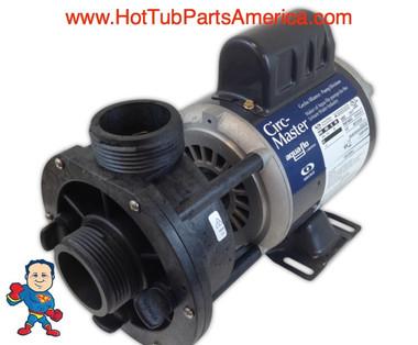 """Pump, Circulation, Gecko AquaFlo CMCP, 1/15hp, 115v, 1-1/2"""", Center Discharge"""