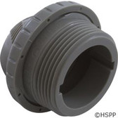 """Inlet Fitting, Infusion Venturi, 1-1/2""""mpt, Lt Gray"""
