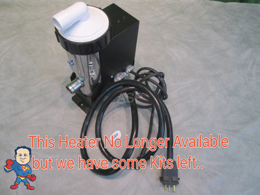 Example of the heater this kits fits...