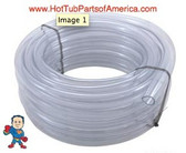 "Air/Water Tubing, Vinyl, 3/4""id x 1""od, 100ft Roll 1"" Outside Diameter"