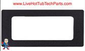 "Adapter Blackout Plate, Hydro-Quip 8-1/2"" x 3-1/2"". For Eco-3, 7, 8 or Gecko k35, K-19, K-35, K-4, K-8 and others"