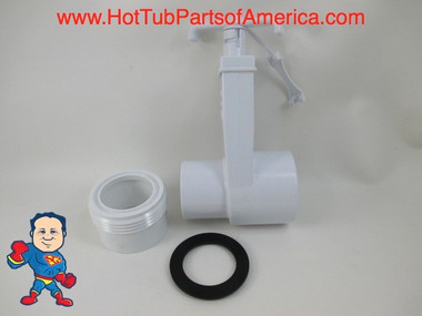 "Hot Tub Spa Gate Slice Valve 1 1/2"" & 1 1/2"" Heater Union How To Video"