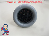 """Master Spa 7 5/8"""" Down East Hot Tub Gray Jet Balboa Blaster Part Video How To"""